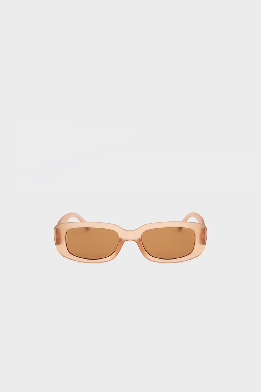 Bej Kemik Çerçeveli Bej Kadın Gözlük