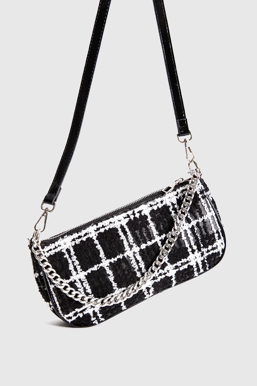 Çanta Viola Siyah Beyaz 20KW033010020-125