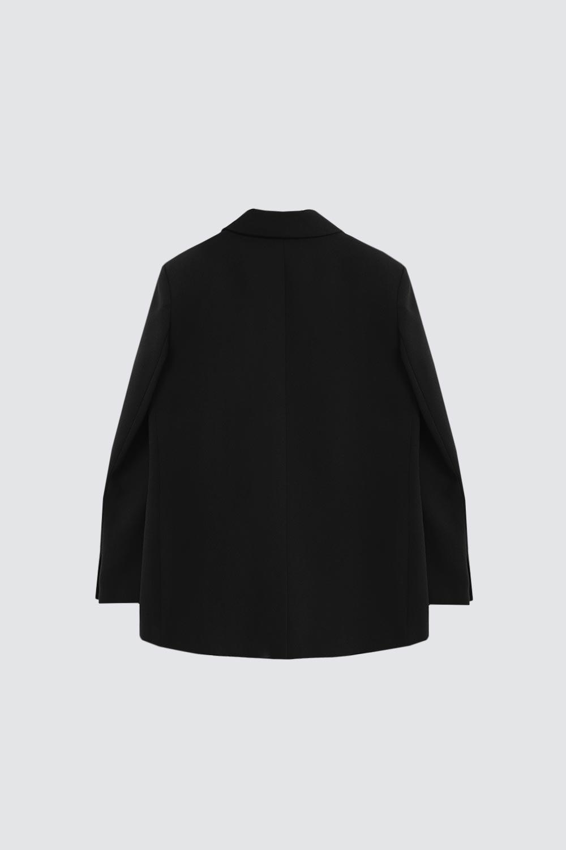 Oversize Blazer Siyah Kadın Ceket