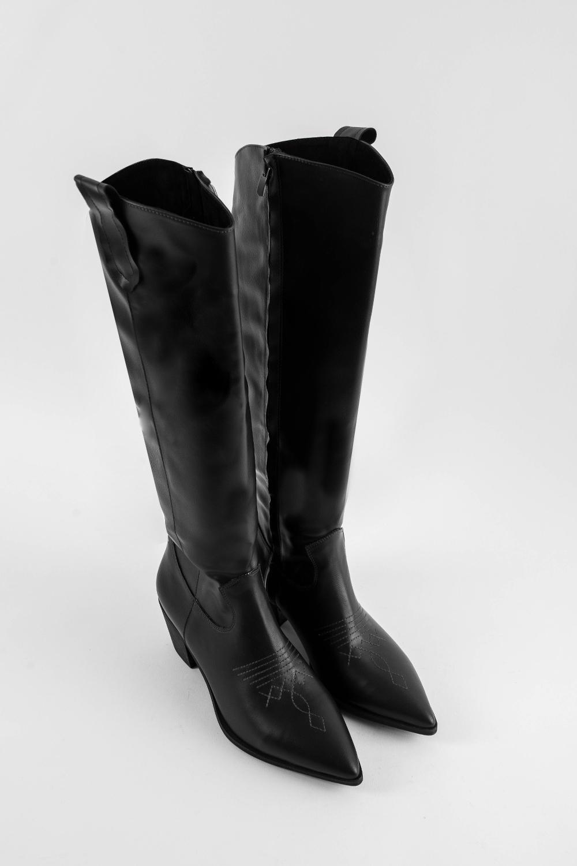 Çizme Brown Siyah 20KW011070008-001