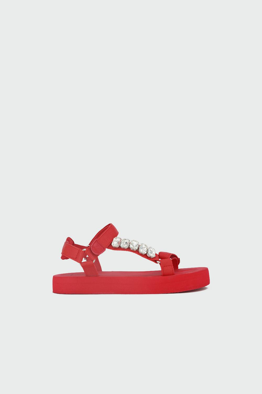 COMFOR EVA TABAN BANTLI Kırmızı Kadın Sandalet