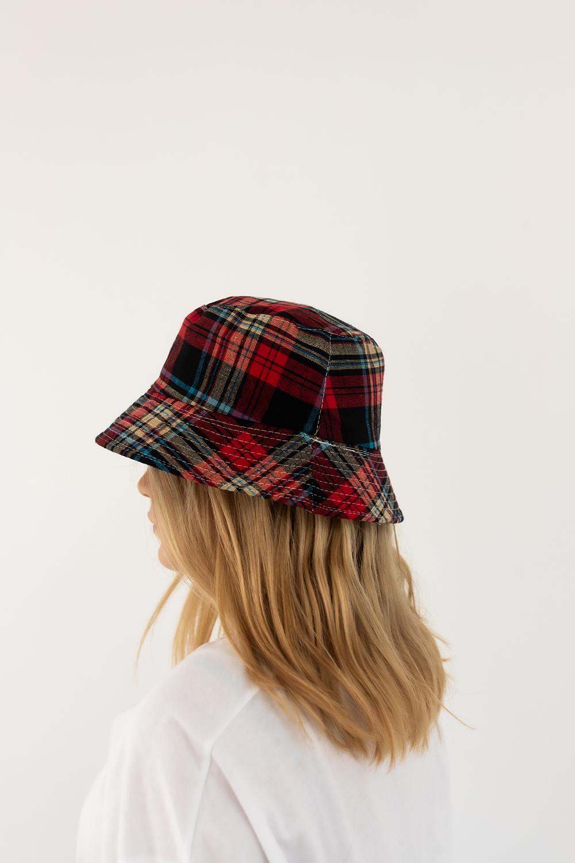 Şapka Dainty Kırmızı Ekose 20YW033020001-4444444444