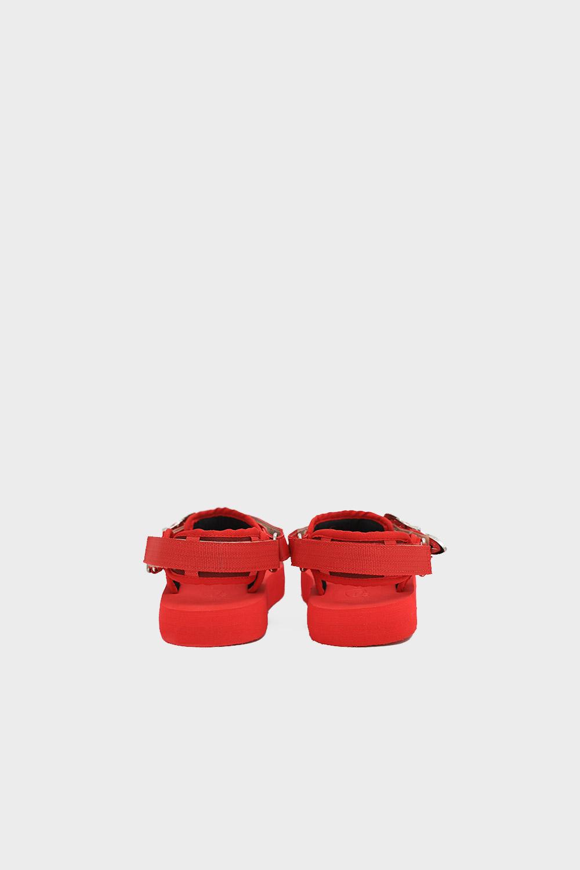 Diaz Eva Taban Bantlı Kırmızı Kadın Sandalet