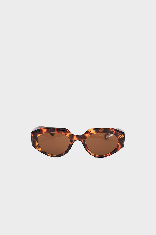 Geometrik Köşeli Leopar Kadın Gözlük