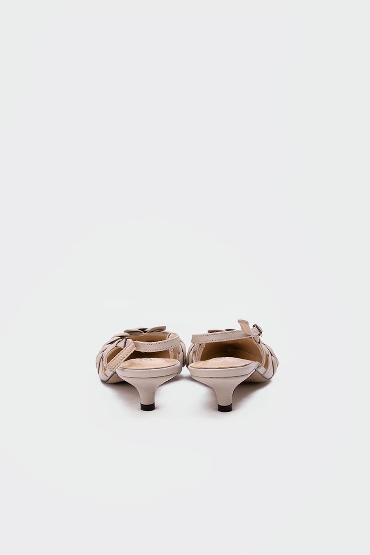 Gossip Minik topuklu gerçek deri stiletto Nude Kadın Topuklu
