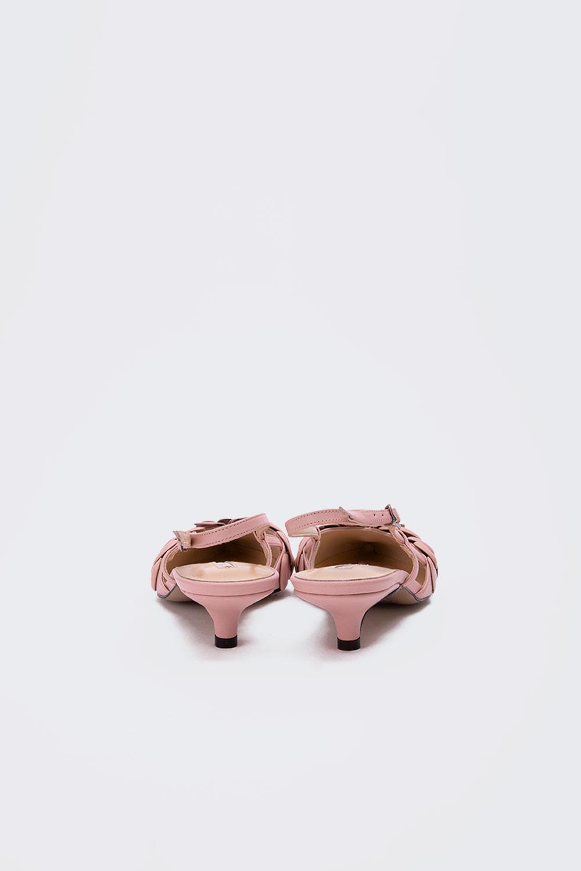 Gossip Minik topuklu gerçek deri stiletto Pembe Kadın Topuklu