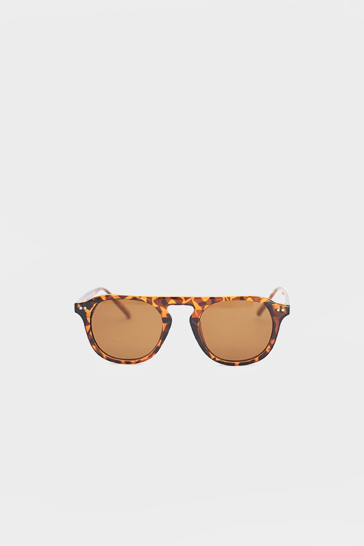 Klasik Leopar Kemik Çerçeve Leopar Kadın Gözlük