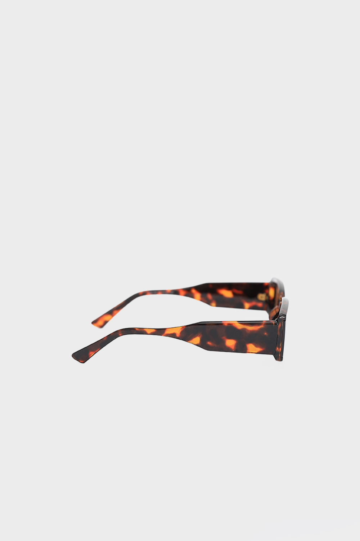 Klasik Vintage Kemik Çerçeve Leopar Kadın Gözlük