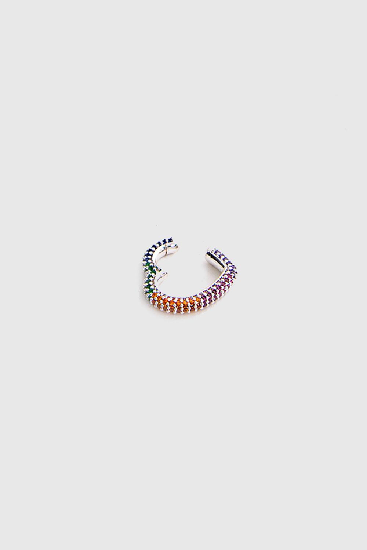 KIKIRDAK KÜPE 00123 Renkli Kadın Küpe