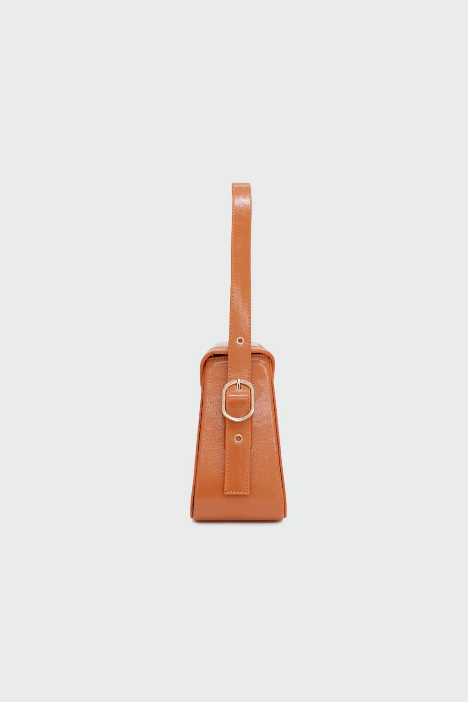 Loya Çapraz Detaylı Turuncu Kadın Çanta