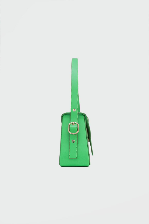Loya Çapraz Detaylı Yeşil Kadın Çanta