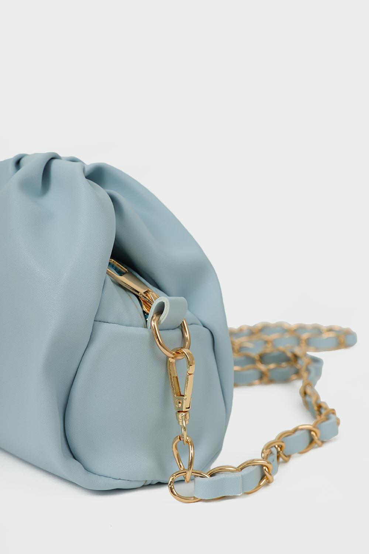 MERİLİNİ ASKILI Açık Mavi Kadın Çanta
