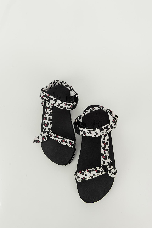 Sandalet Polka Leopar