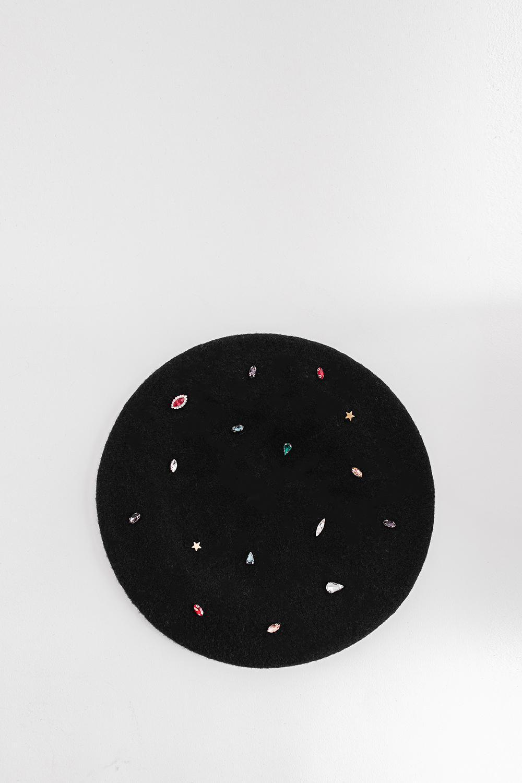 Şapka Bety Siyah 20KW033020005-001