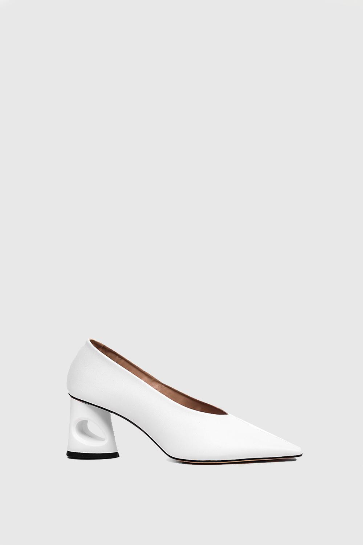 Topuklu Shelby Beyaz 19SW011080002-002