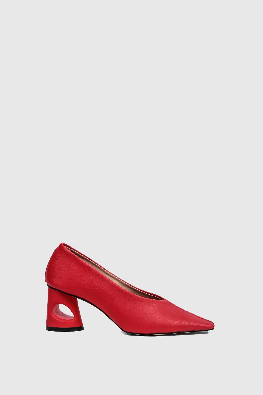 Topuklu Shelby Kırmızı 19SW011080002-018