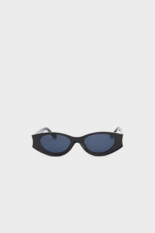 Üçgen Kenarı Kesik Siyah Kadın Gözlük