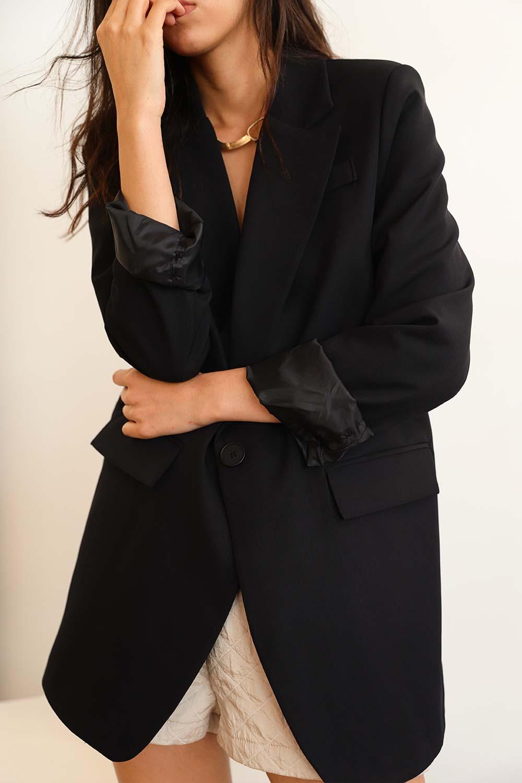 VATKALI BLAZER Siyah Kadın Ceket