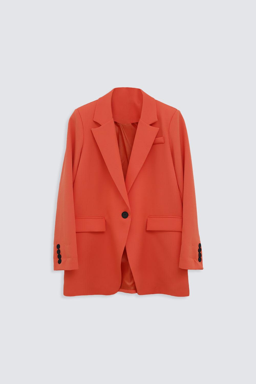 VATKALI BLAZER Turuncu Kadın Ceket