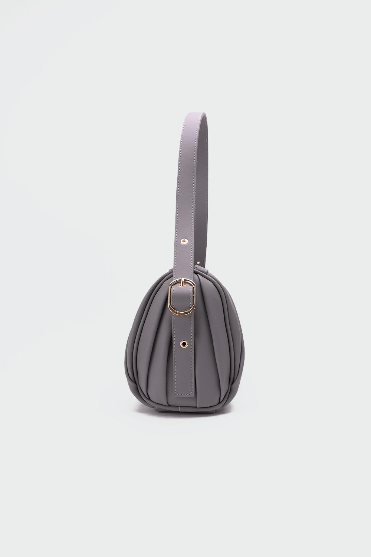 Wolly Silindir Model Kol Askılı Gri Kadın Çanta